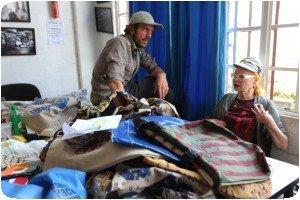 Vivienne Westwood et ses sacs du Kenya